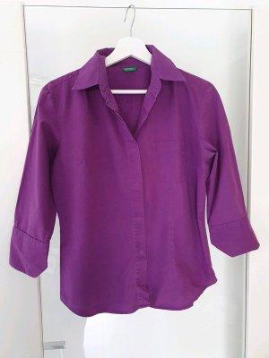 3/4 Bluse von Benetton, lila