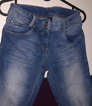 3/4 Denim Jeans Größe XS