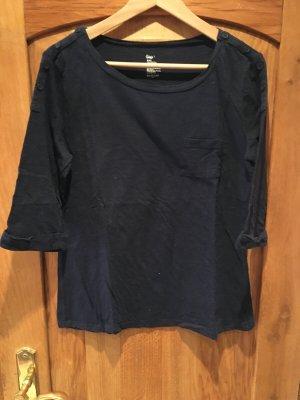 3/4 Dunkelblau GAP Shirt Gr.L