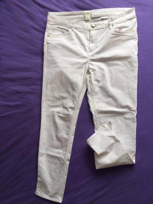 H&M 3/4-broek wit Katoen