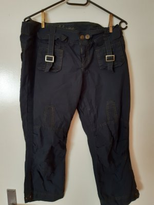 Fishbone Pantalone a 3/4 blu scuro