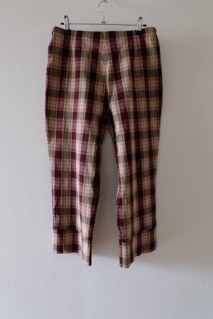 Vintage 3/4 Length Trousers multicolored