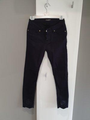 Dolce & Gabbana Pantalone a 3/4 blu-blu scuro