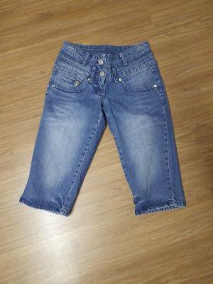 Morgan Jeans a 3/4 azzurro
