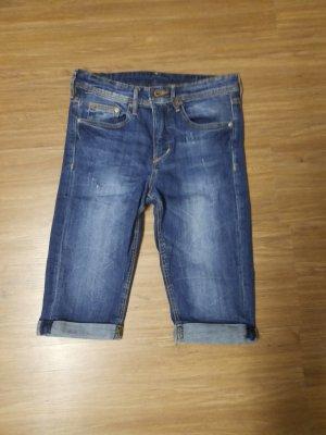 HM Jeans a 3/4 blu scuro-blu acciaio