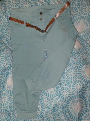 no name Pantalon 3/4 gris vert