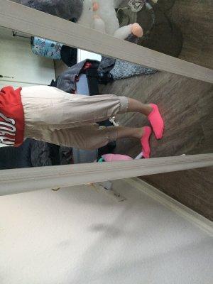 Pantalone a 3/4 beige chiaro