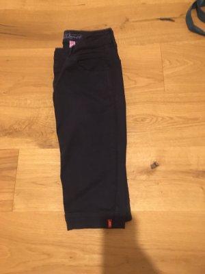 Edc Esprit Pantalon 3/4 bleu foncé