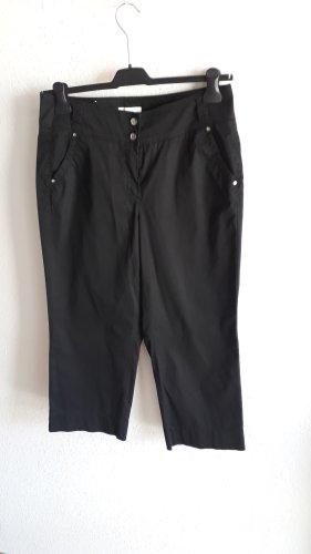 Gardeur 3/4 Length Trousers black cotton