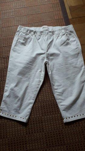 bpc selection Pantalon 7/8 blanc coton