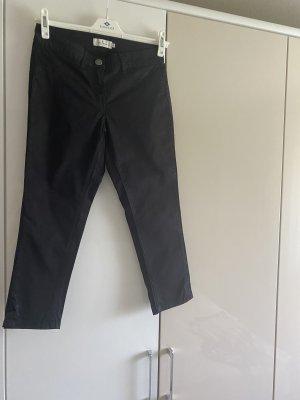 Tom Tailor Spodnie 3/4 czarny Bawełna