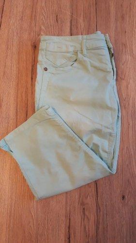 Timezone Pantalone a 3/4 menta