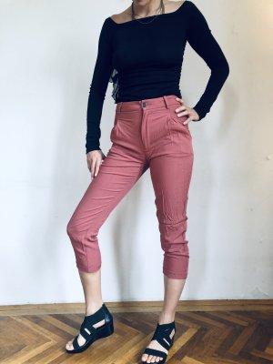Zara Boyfriend Trousers rose-gold-coloured-dusky pink