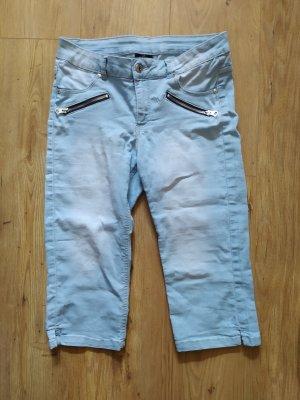 3/4 Hose Jeans hellblau