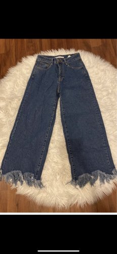 Zara 3/4 Length Jeans blue-dark blue