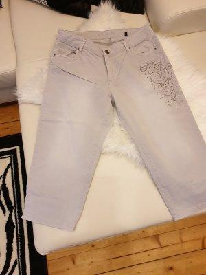 Liberty Pantalon 3/4 gris clair