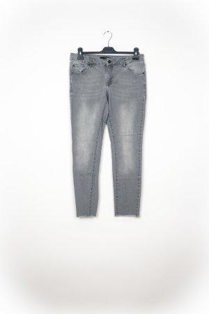 Zero Pantalone a 3/4 grigio chiaro