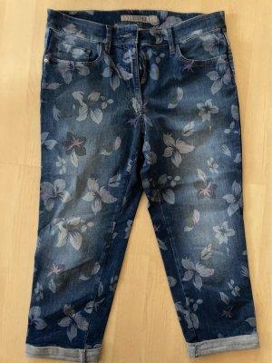 Zerres Jeans a 3/4 multicolore