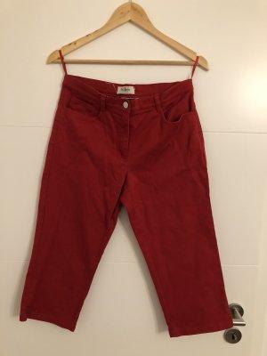 John Baner Pantalone a 3/4 rosso scuro