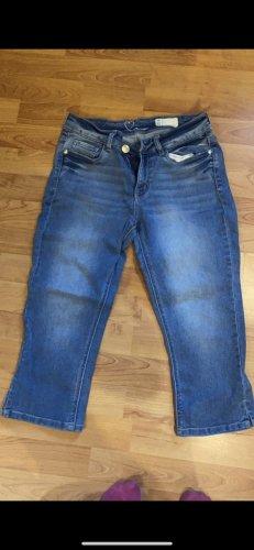 3/4 Length Jeans steel blue
