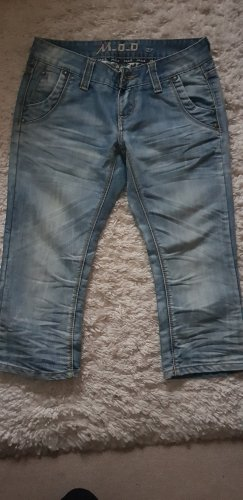 M.O.D. Jeans a 3/4 azzurro