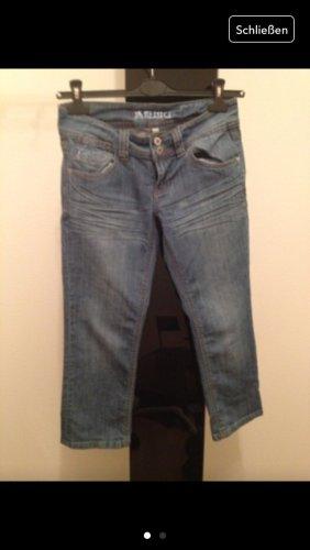 3/4 Jeans blau Größe 27 36