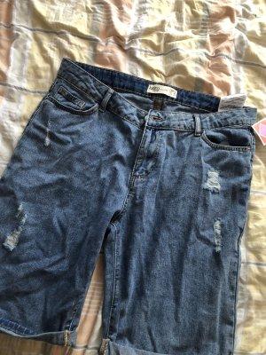 Janina Jeans a 3/4 blu