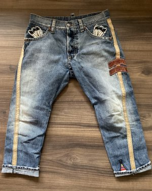 Dsquared2 3/4 Length Jeans multicolored