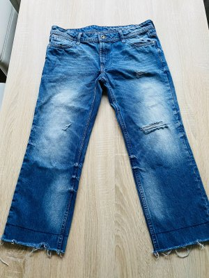 H&M Conscious Collection 3/4 Length Jeans azure