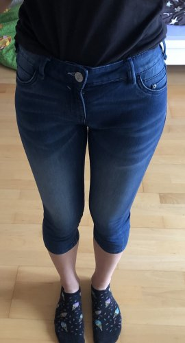 here & there 3/4 Length Jeans dark blue