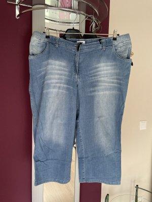 Kj Brand 3/4 Length Jeans grey-azure