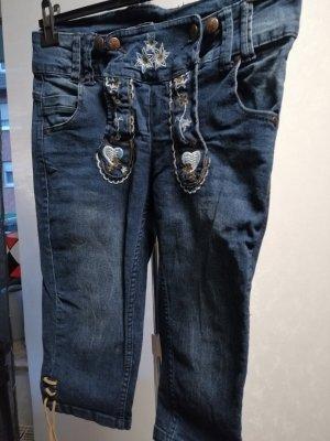 3/4 Jeans Trachtenstil