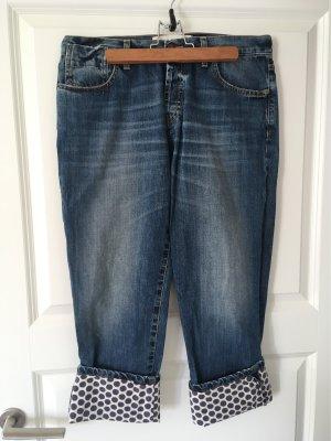 Marni Jeans a 3/4 blu Cotone