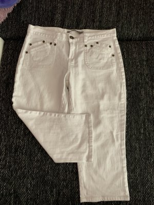 3/4 Jeans weiß