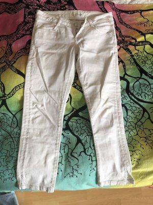 3/4 Jeans, weiß, Größe 36 von Esprit