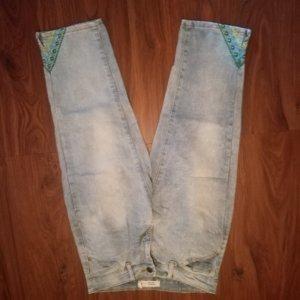 Janina 3/4-jeans lichtblauw