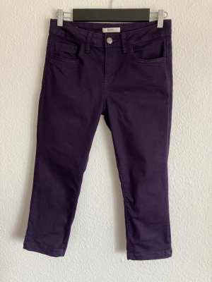 3/4 Jeanshose, violett, *Esprit* Gr. 29, star slim