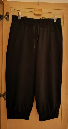 Urban Classics 3/4 Length Trousers black mixture fibre