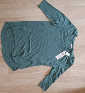 Only Long Shirt slate-gray-petrol
