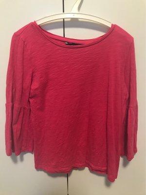 Vero Moda Camicia lunga rosso lampone