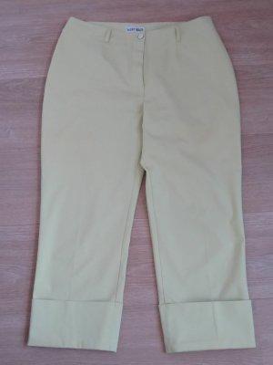 Vanilia Spodnie 3/4 szaro-zielony Bawełna