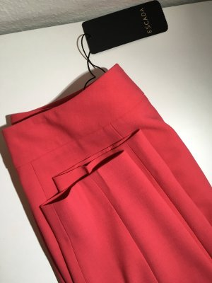Escada 3/4 Length Trousers neon red-salmon
