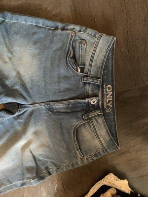 Only Pantalone a 3/4 azzurro-blu fiordaliso