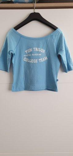 Tom Tailor Maglione twin set azzurro