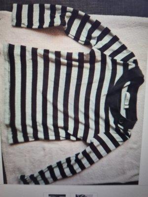 Bluhmod Crewneck Sweater white-black