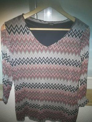 3/4 Shirt mit Ethno Muster