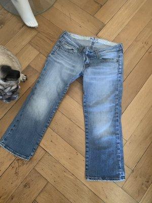 3/4 Sommer #Jeans #mavi