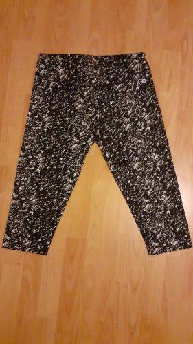 Alex Athletics pantalonera blanco-negro