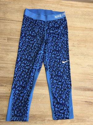 3/4 Sporthose Sporttights Leggings Nike blau S