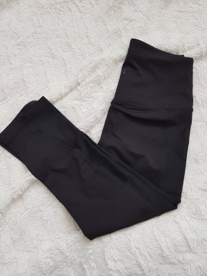 3/4 Sportleggings schwarz Größe XS H&M